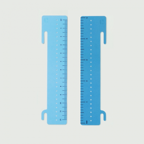 Clipmatic Ruler with Light Blue