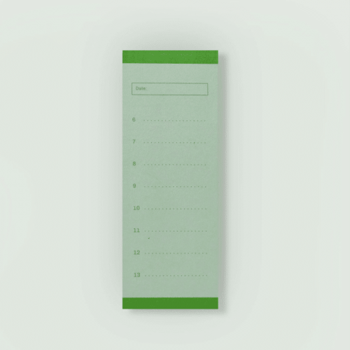 Daily Planner- Green