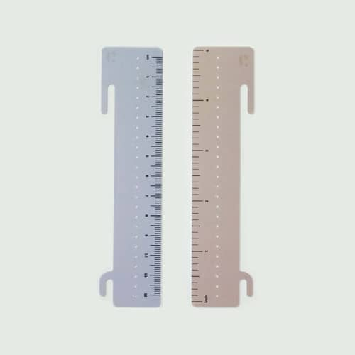Spiral Notebook Rulers
