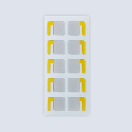 Yellow Clipmatic Stickers